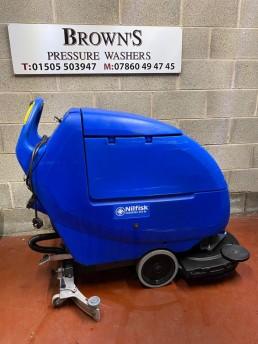 Scrubtec 653 BL combi scrubber dryer